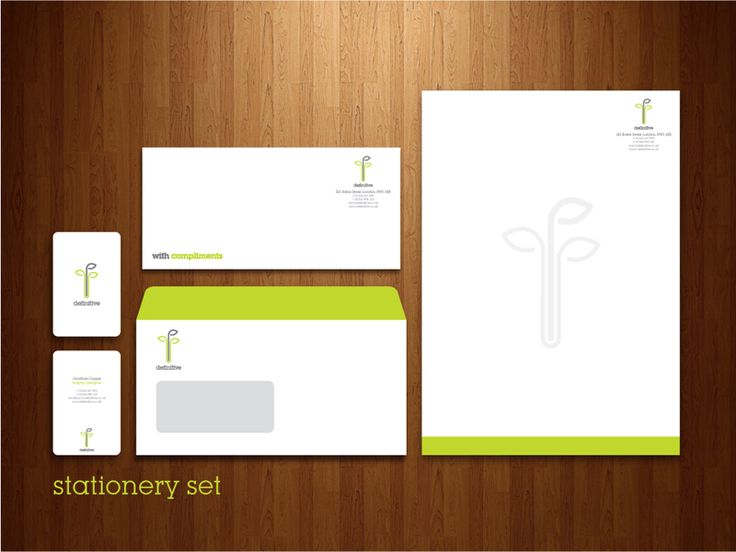 Definitive: Stationery Set
