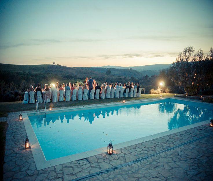 Farmhouse Wedding in Tuscany