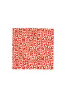STELLA MCCARTNEYHeart print cotton-modal scarf