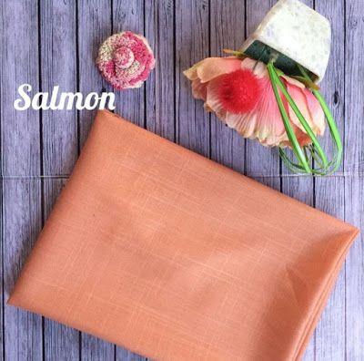 SALMON bahan: katun ima teksture: berserat halus, sangat adem di pakai, mudah di atur tidak licin meskipun tanpa inner. ukuran: 180x75 pinggir: jahit dan rawis