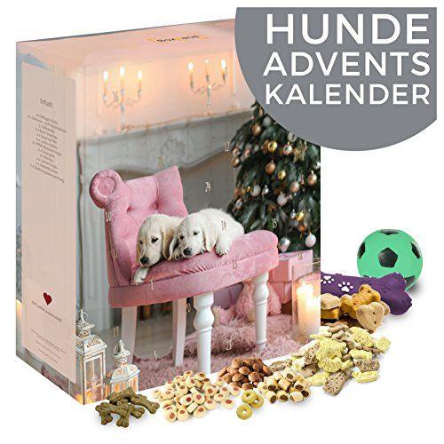 Der originelle Adventskalender für Hunde ist ein wundervolles Geschenk für Hunde und deren Besitzer. 24 Leckereien erfreuen den vierbeinigen Freund.