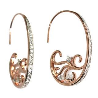 curlicue earrings