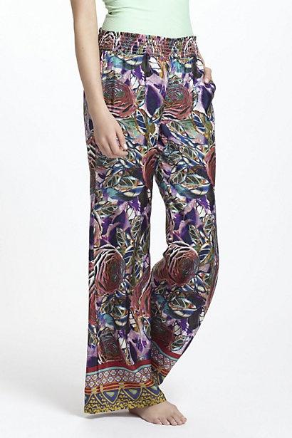 Mingled Rose Silk Loungers #anthropologie: Anthropology Silk Pants, Silk Lounger, Lounges Pants, Lounger Anthropology, Mingl Rose, Anthropologie Eu, Rose Lounger, Anthropologie Com, Lounges Wear