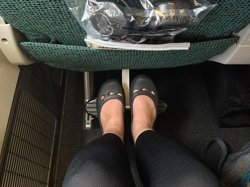 A review of Cathay Pacific's Premium Economy  Link --> http://thetravelbite.com/travel_and_food_blog/a-review-of-cathay-pacifics-premium-economy/