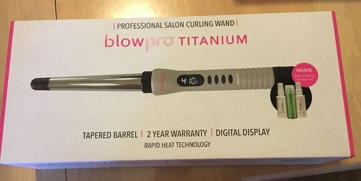 Blowpro Titanium Beach Waver Digital(Only 2 left) via BeastyBargains. Click on the image to see more!