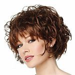 High-quality European and American Fashion High-quality Synthetic Wig High Temperature Wire Little Curls 2017 - $11.9