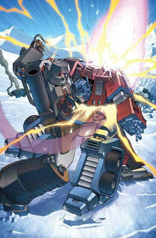 Voltron Vs Optimus Prime