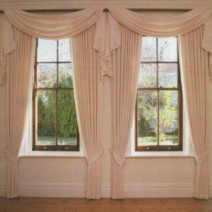 Cómo coser cortinas visillos y estores