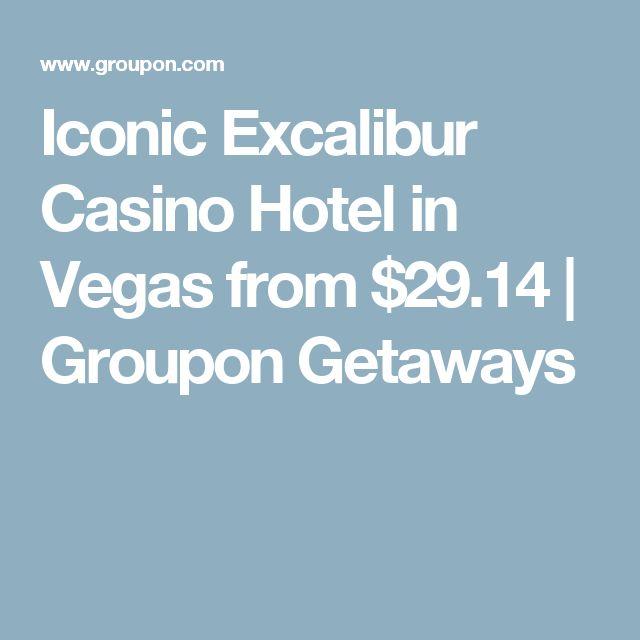 Iconic Excalibur Casino Hotel in Vegas from $29.14 | Groupon Getaways