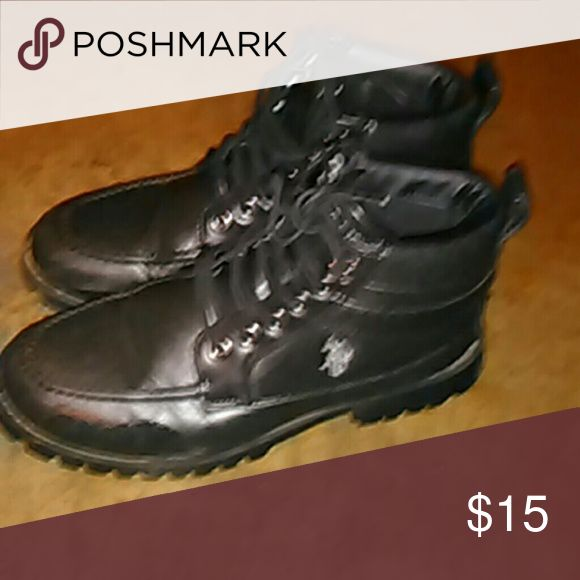 US Polo Association boots Worn only twice. US Polo Association  Shoes Boots