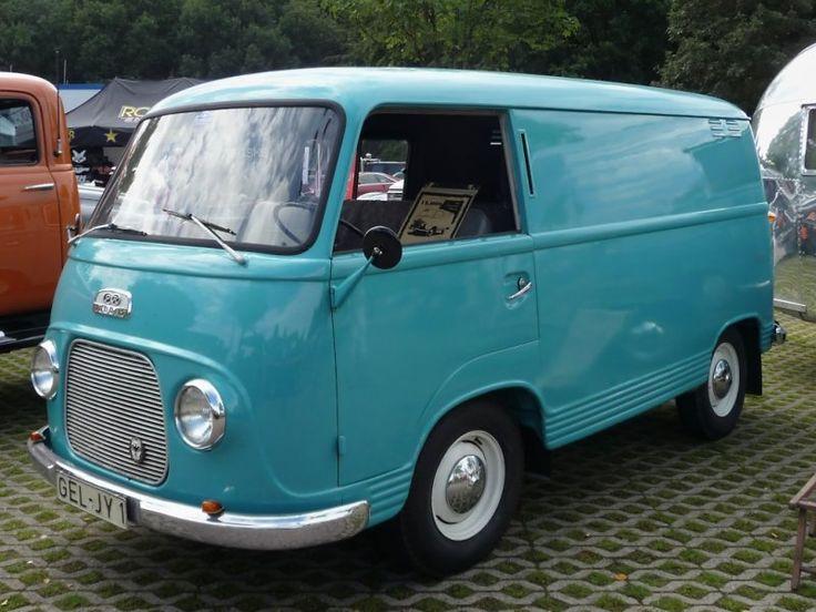 FK 1000, Ford Transit-Vorläufer aus den 1950er Jahren. US-Car-Show Grefrath 2011-08-21