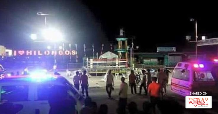 BOMB BLASTS HURT 33 AT PHILIPPINE BOXING MATCH