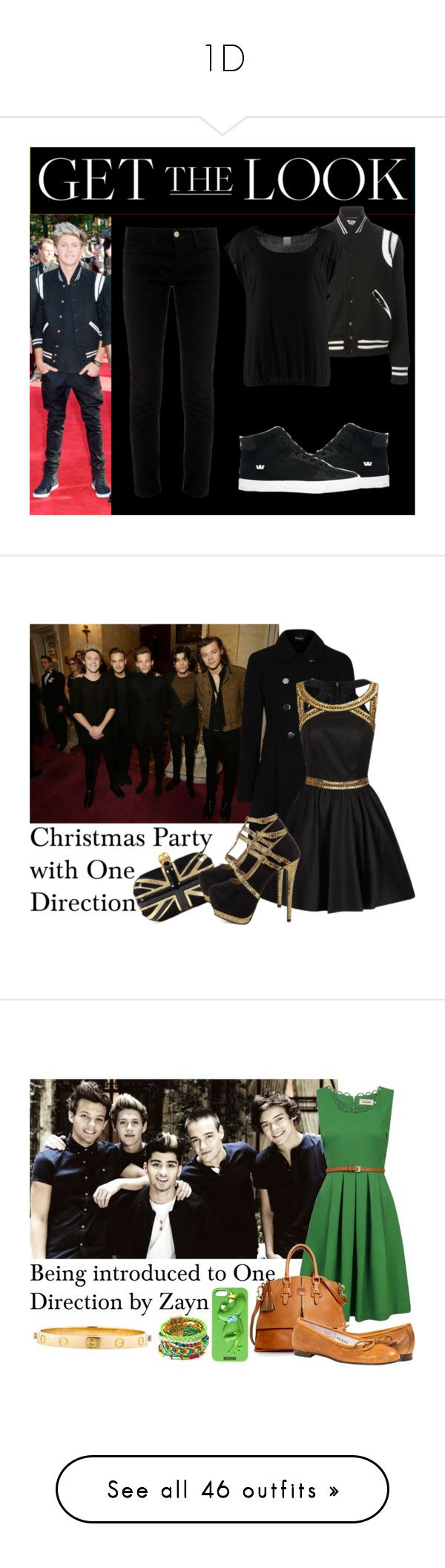 """1D"" by rumaisa-hadia ❤ liked on Polyvore featuring beauty products, gift sets & kits, eau de perfume, one direction, Yves Saint Laurent, Vero Moda, Frame, Supra, Chi Chi and Alexander McQueen"