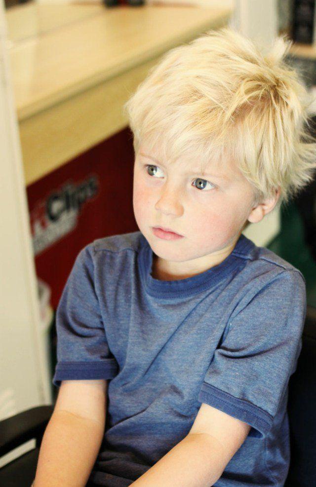 coupe cheveux petit garçon