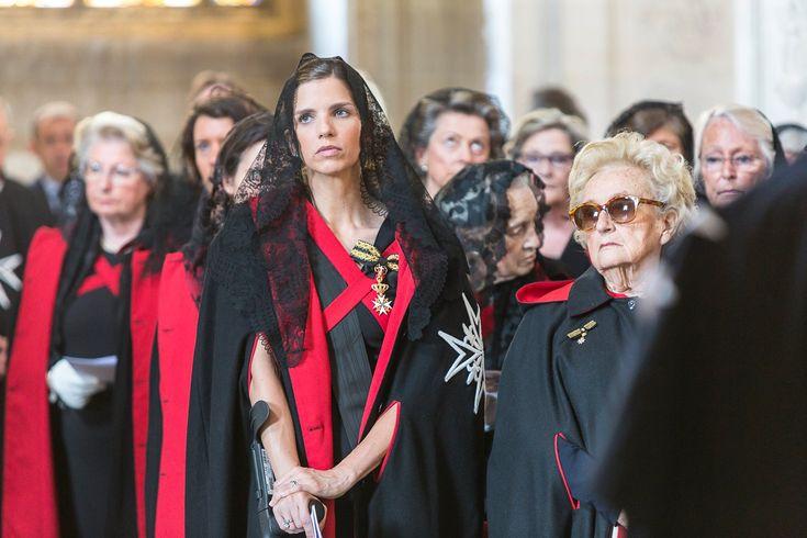 Madame la duchesse d'Anjou et Madame Chirac