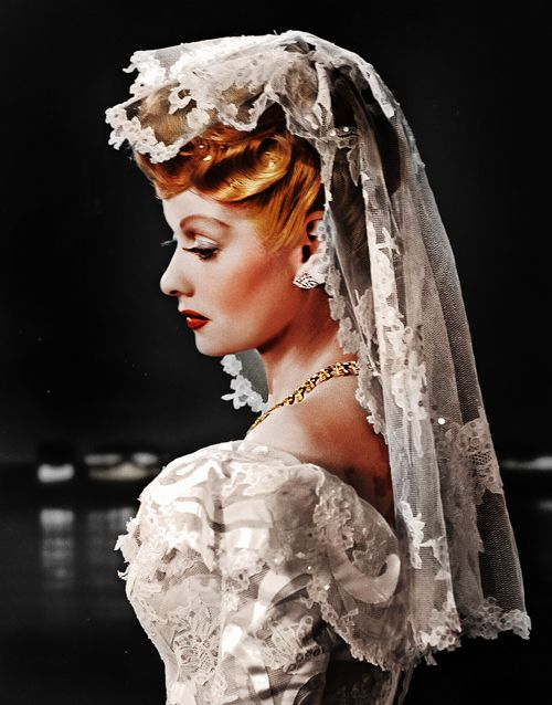 Edith mack hirsch email this blogthis share to twitter for Lucille ball wedding dress