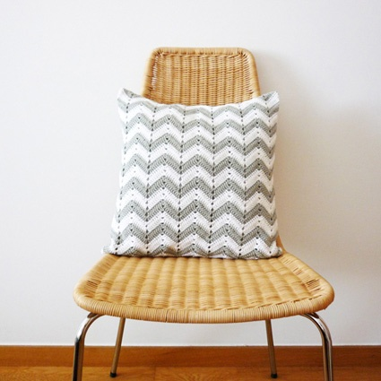 Two Trends In One Design – Chevron And Crochet | Craftaria