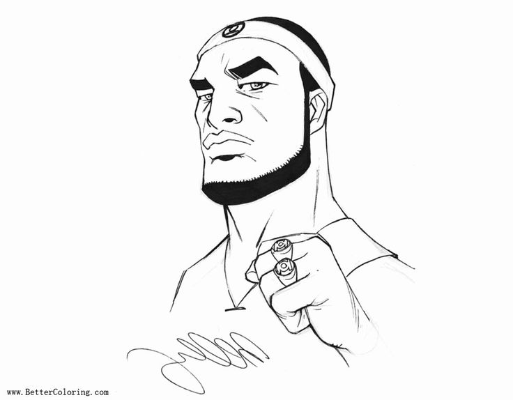 24 Lebron James Coloring Page in 2020 | Shark coloring ...