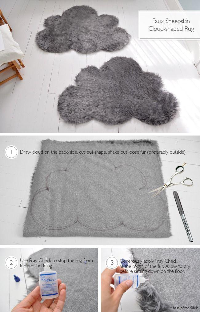 Faux Sheepskin Cloud Rugs