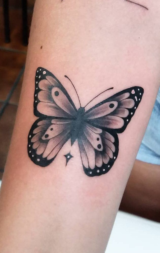 46 Beautiful And Cute Butterfly Tattoo Designs To Get That Charm 2019 Page 16 Of 42 Tattoo Go Tattoos For Women Flowers Butterfly Tattoo Designs Butterfly Tattoo
