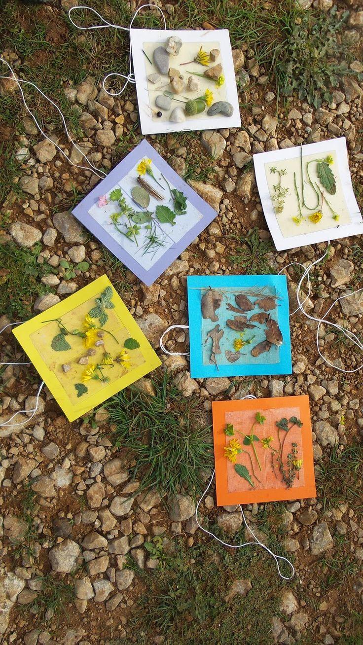 Land art #1 - sortie d'automne