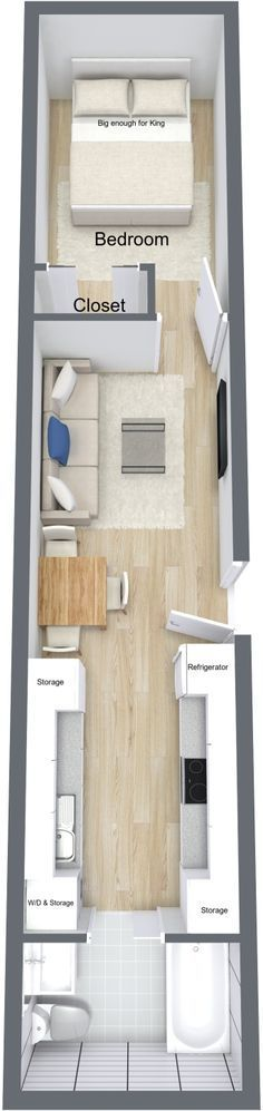 Empty nester storage container home