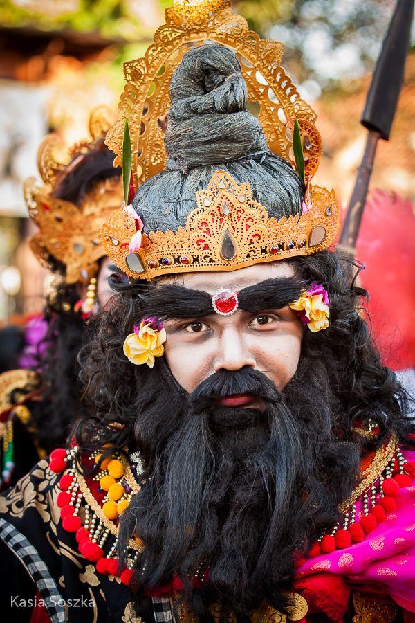 Balinese dance drama performer