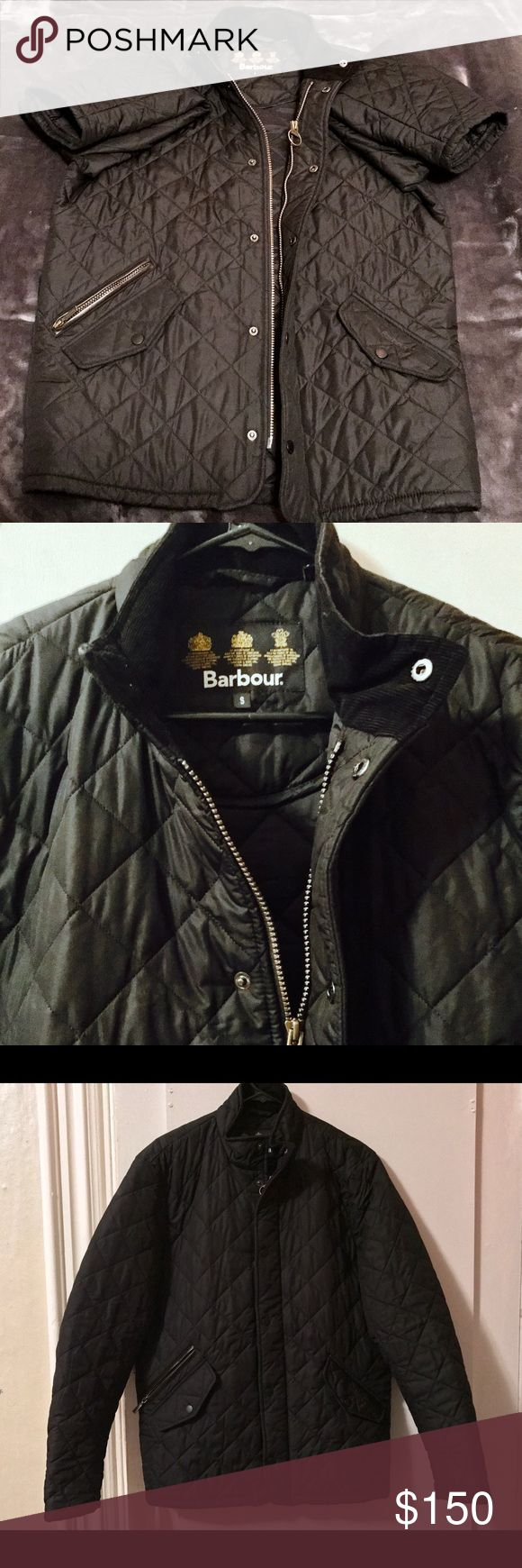 Men's Barbour Jacket - Small Men's Barbour wax jacket - new without tags. All zippers, buttons, pockets are all in perfect condition. Barbour Jackets & Coats Bomber & Varsity