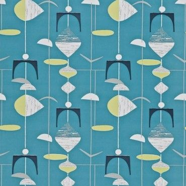 Sanderson Wallpaper 50's collection from www.wallpapershop.com.au (Murrays Interiors).