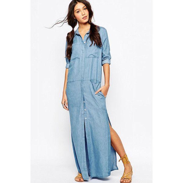 1000  ideas about Denim Maxi Dress on Pinterest - Denim bridesmaid ...
