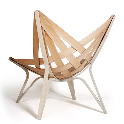 cool chair, looks easy to make.
