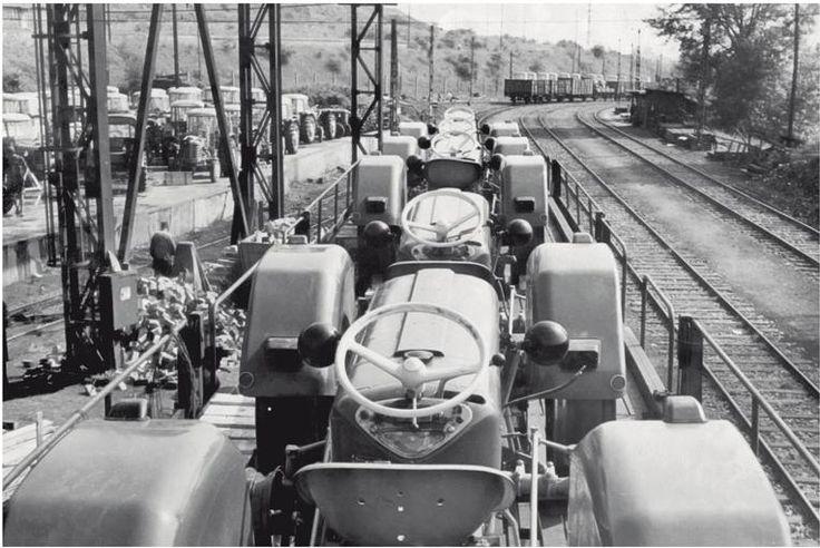 Transportation of tractors