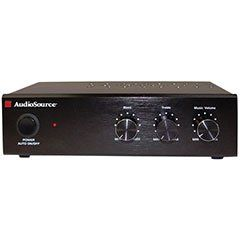 AudioSource AMP 50 25-Watt Stereo Amp (Black)