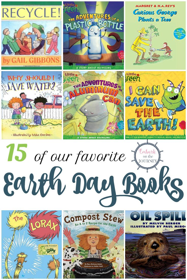 April 22 is Earth Day. Fill your book basket with Earth Day picture books for kids. They are sure to inspire your kids as they learn about Earth Day! | embarkonthejourney.com via @letsembark