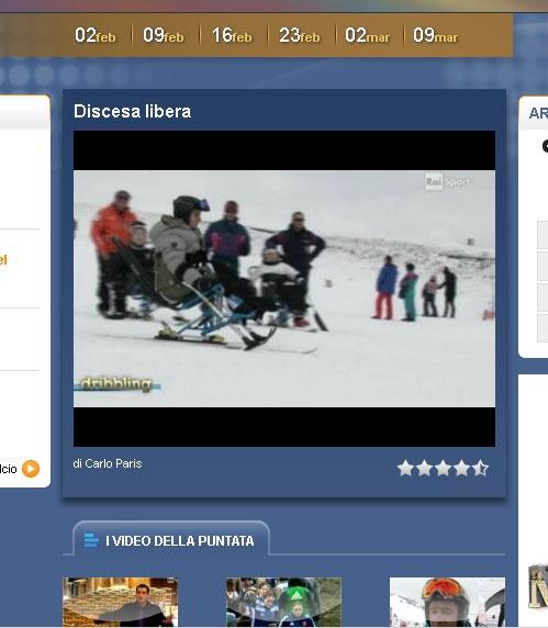 """Guardate il Video dell' Associazione ASHA sponsorizzata da Guidosimplex intitolato """"DISCESA LIBERA"""" qui:    http://www.dribbling.rai.it/dl/Dribbling/home_.html"""