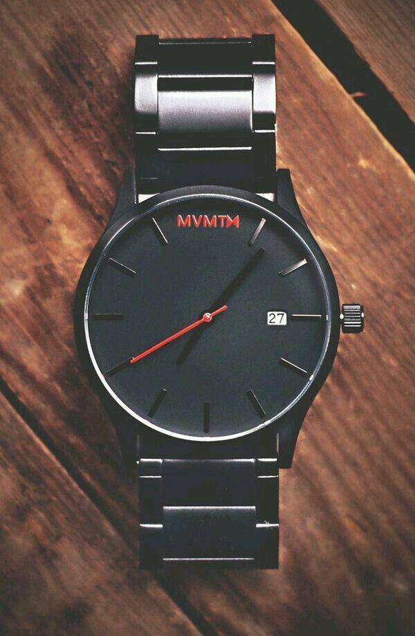 Black MVMT Watch.