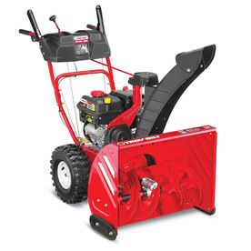 Troy-Bilt Storm 2660 208cc 26-in Two-Stage Electric Start Gas Snow Blower with Headlight