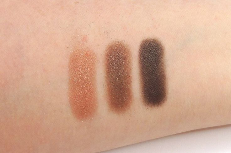 Urban Decay, Urban Spectrum Palette Brown row Left to right: Daybreak, Burn and West