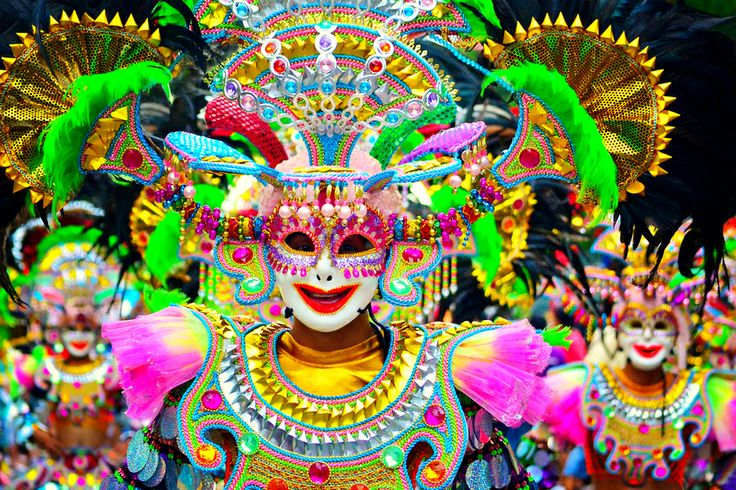 The MassKara Festival is a festival held each year in Bacolod City, Philippines, third weekend of October.