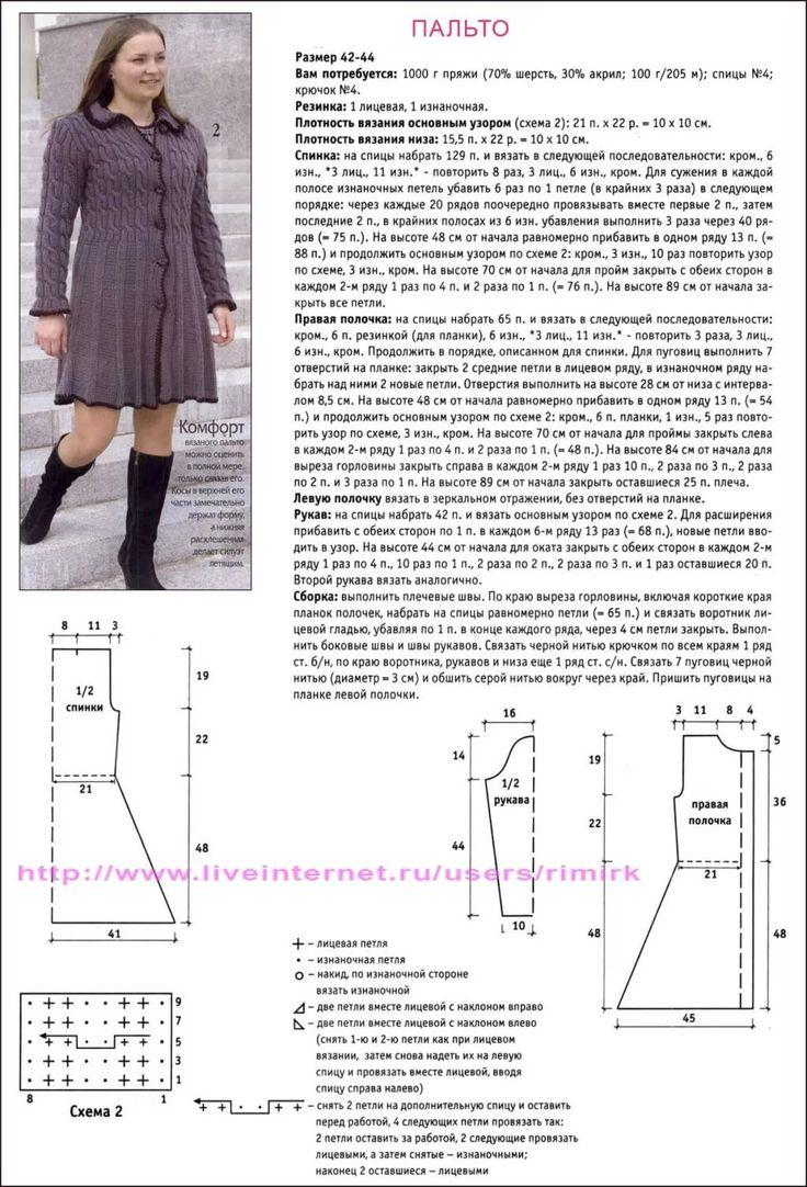 логотипа вязание платьев юбок пальто фото схемы этой