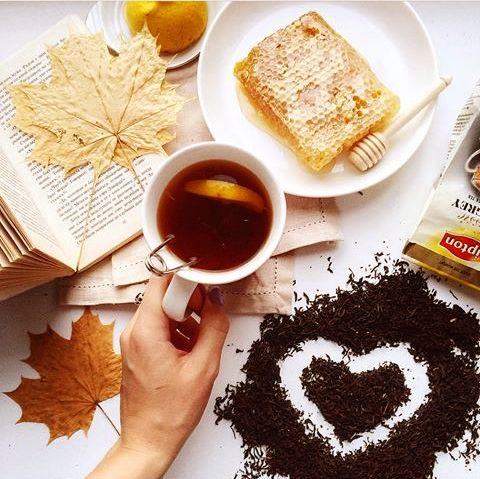 Autumn tea lover!