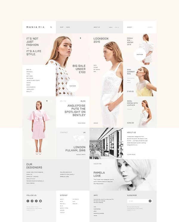 Mania Mia store features trendy, fashionable, and comfortable women's clothing and accessories, all with the quality and innovative materials that Mania Mai is known for.Founded in 2011. Based in London.