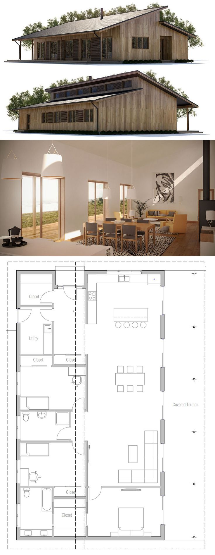 Small house design on terrace house plan design house design ideas 0d - Plan Might Have Some Thing We Can Borrow Like The Master Bedroom Robe Bathroom Combo Find This Pin And More On Home Plans