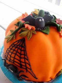 Halloween-kakku/ halloween-cake