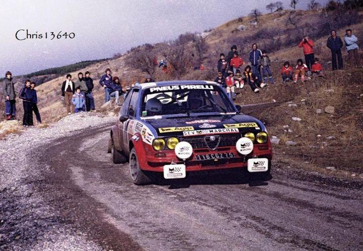 Partager Tweeter + 1 E-mail Liste des engagés Départs: 233 - Arrivés : 154 eng5.doc Classement 1 - - # 4 Bernard Darniche - Alain mahé Lancia Sratos HF 2 - - # 2 Bjorn Waldegard - Hans Thorszelius Ford Escort RS 1800 ( 260 ch ) 3 - - # 3 Markku Alen - Ilkka Kivimaki Fiat 131 Abarth 4 - - # 9 Jean Claude Andruet - Chantal Lienard Fiat 131 Abarth 5 - - # 5 Hannu Mikkola - Arne Hertz Ford Escort RS 1800 ( 260 ch ) Voitures de Tourisme de série - Groupe 1 : Classe 1 39éme Généra...