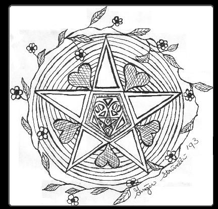 free wiccan coloring pages - photo#6