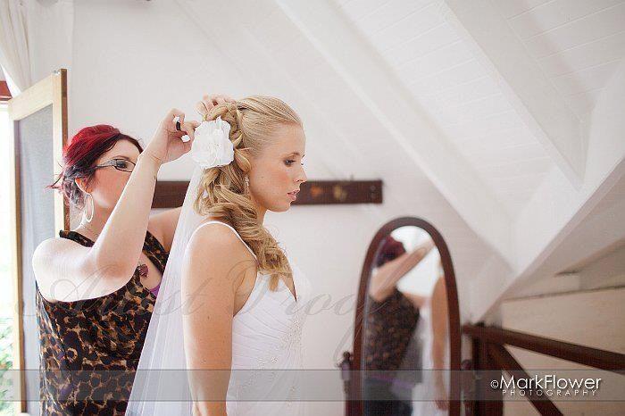 behind the scenes bride