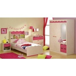 Lily Range--- Parisot Lily girls bedroom furniture set