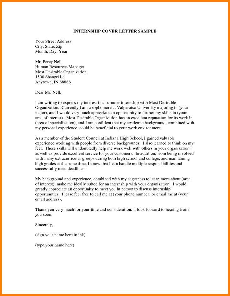 Ponad 25 najlepszych pomysłów na Pintereście na temat Writing - how to write a cover letter for an internship