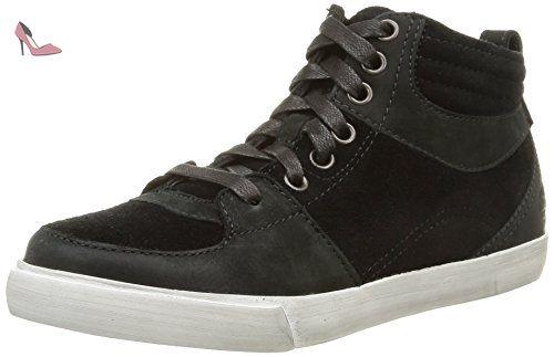 Timberland Glstnbry Snkrchk, Sneakers Hautes femme, Noir (Black), 39 EU - Chaussures timberland (*Partner-Link)